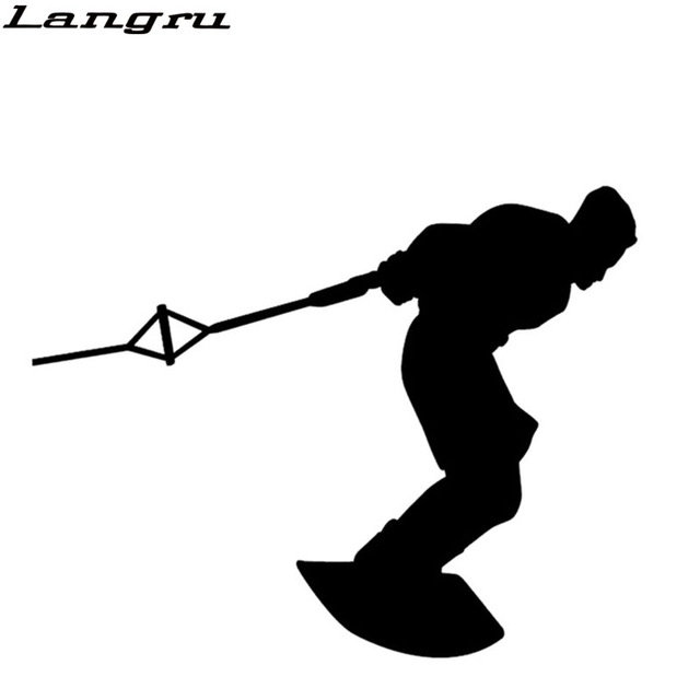 640x640 Langru Wakeboarding Skiing Water Ski Wake Board Graphic Car