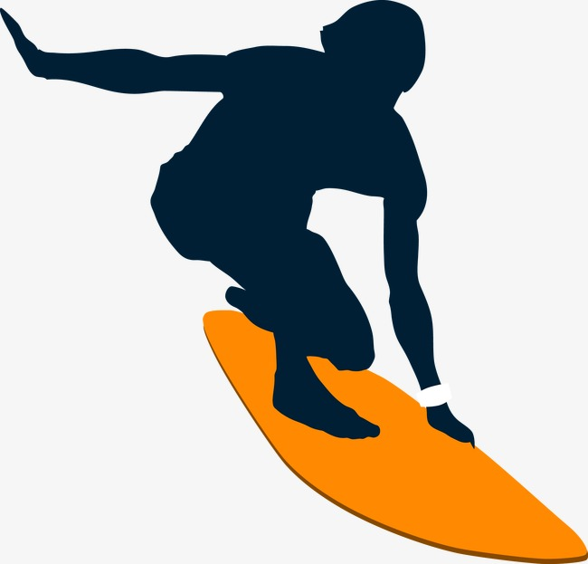 650x623 Surf Silhouette Figures, Surf, Water Skiing, Character Png