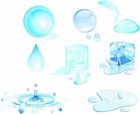 560x457 Water Splash Vector Free Vector Download (3,314 Free Vector)