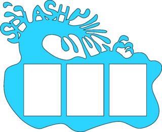 320x262 Einnej Free Svg File For A Water Splash Wallet Frame Svg