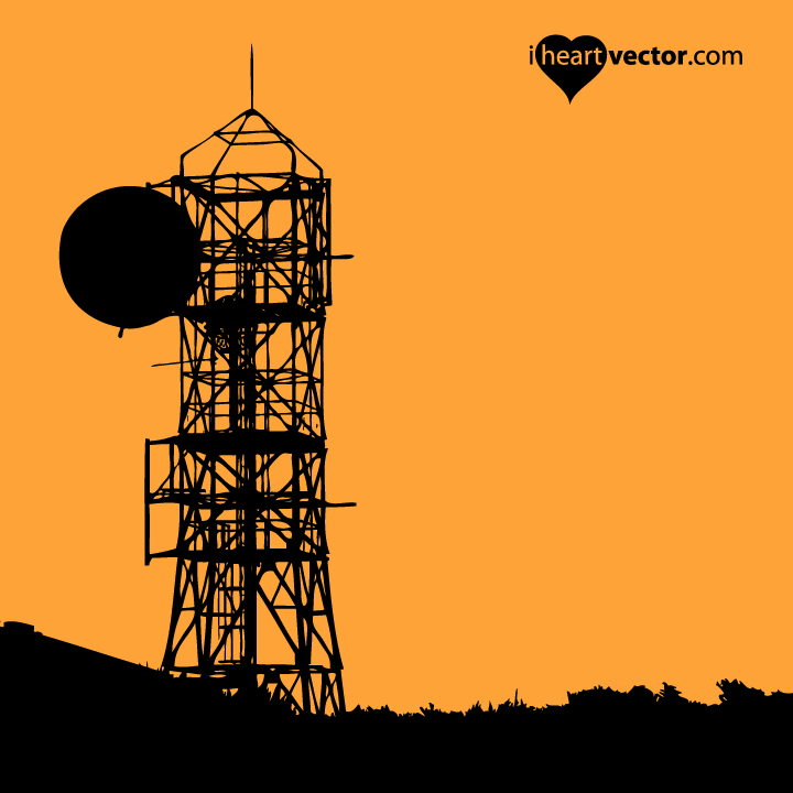 720x720 Water Tower Vector