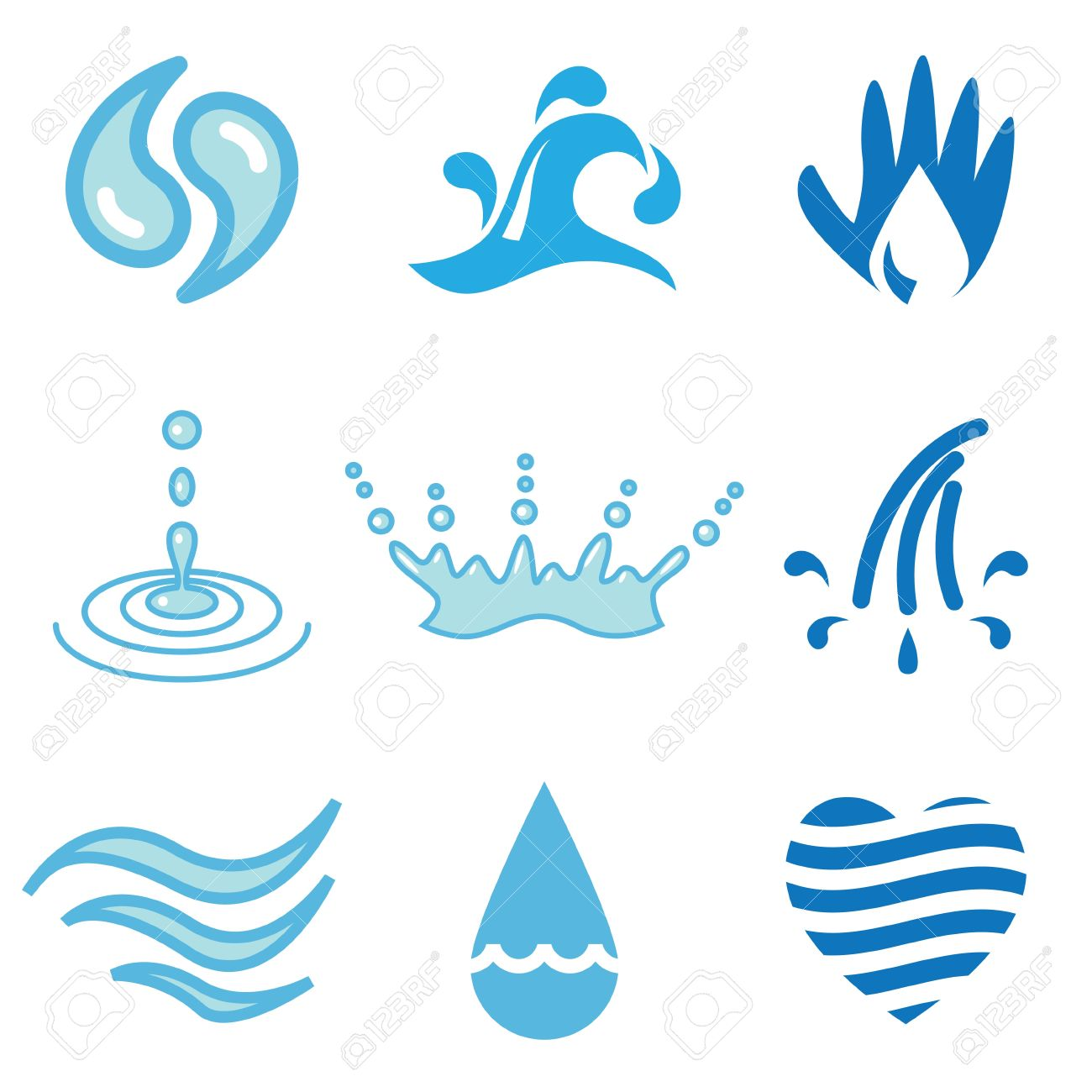 1300x1300 Stream Clipart Water Wave