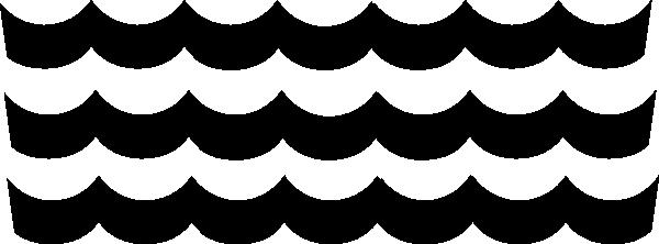 600x222 Wave Pattern Clip Art