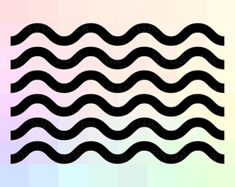 340x270 Waves Clipart Etsy
