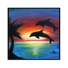 236x236 Sunset Swing Painting Painting Adventures Swings