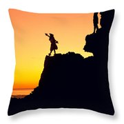 180x180 Hula Silhouette Photograph By William Waterfall