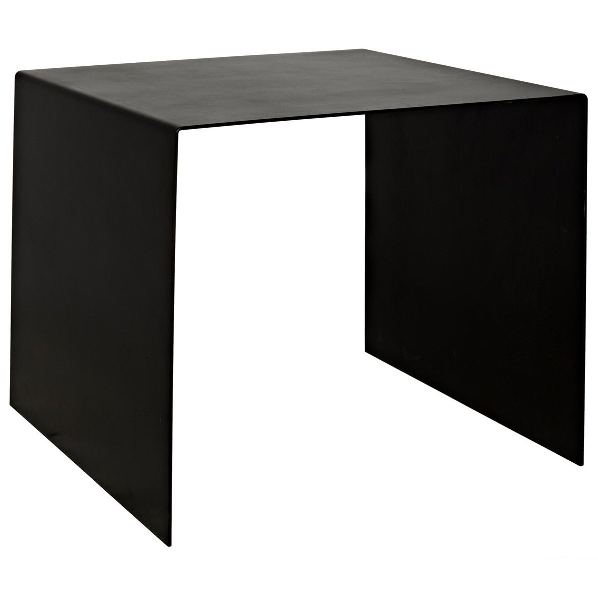 1199x1199 Noir Yves Side Table Offers A Clean Lined Take On A Waterfall