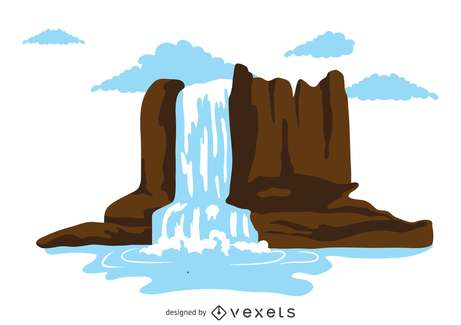 1600x1129 Waterfall Vector Amp Graphics To Download
