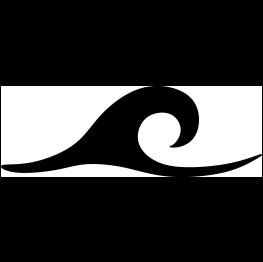263x262 Ocean Wave Silhouette Cut Files Most Free Ocean