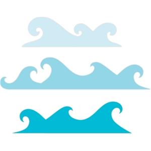 300x300 Silhouette Design Store Wave Borders Silhueta
