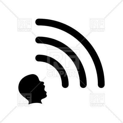 400x400 Wi Fi Signal Sign