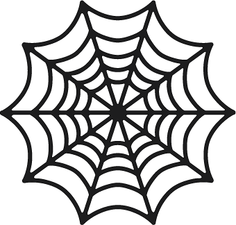 340x324 Spiderweb Free File From Svgcuts Craft Silhouette Sd Or Cameo
