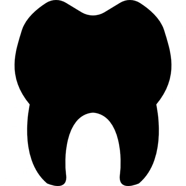 626x626 Teeth Silhouette Icons Free Download