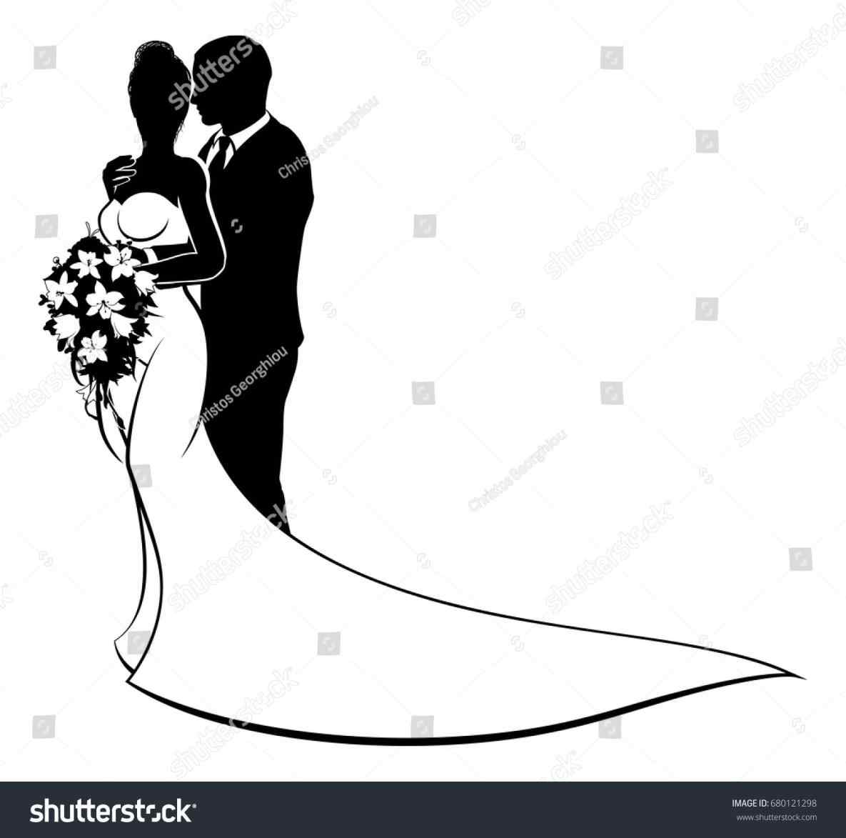 1185x1173 Web Kissing Bride And Groom Silhouette Clipart Black And White