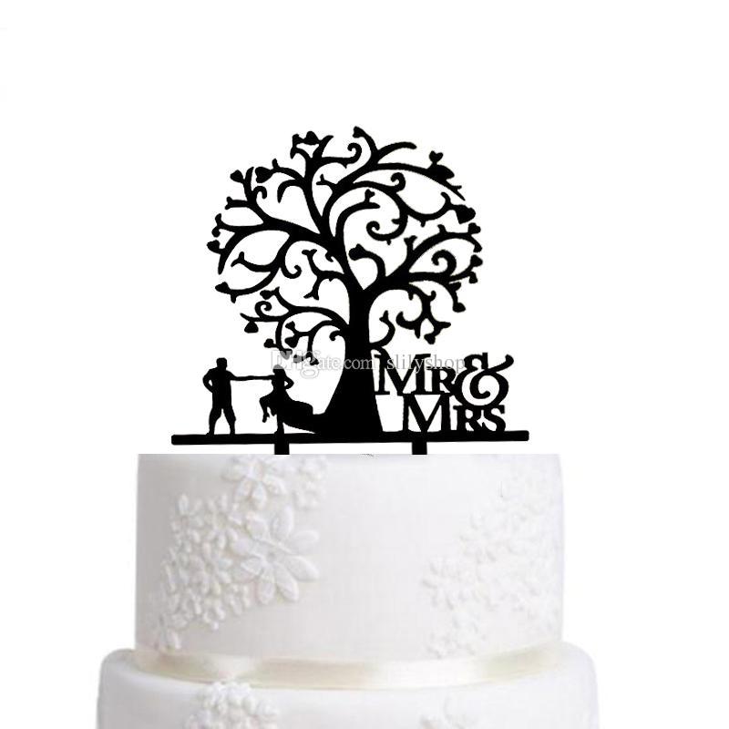 800x800 Wedding Cake Topper Silhouette Bride Groom , Elegant