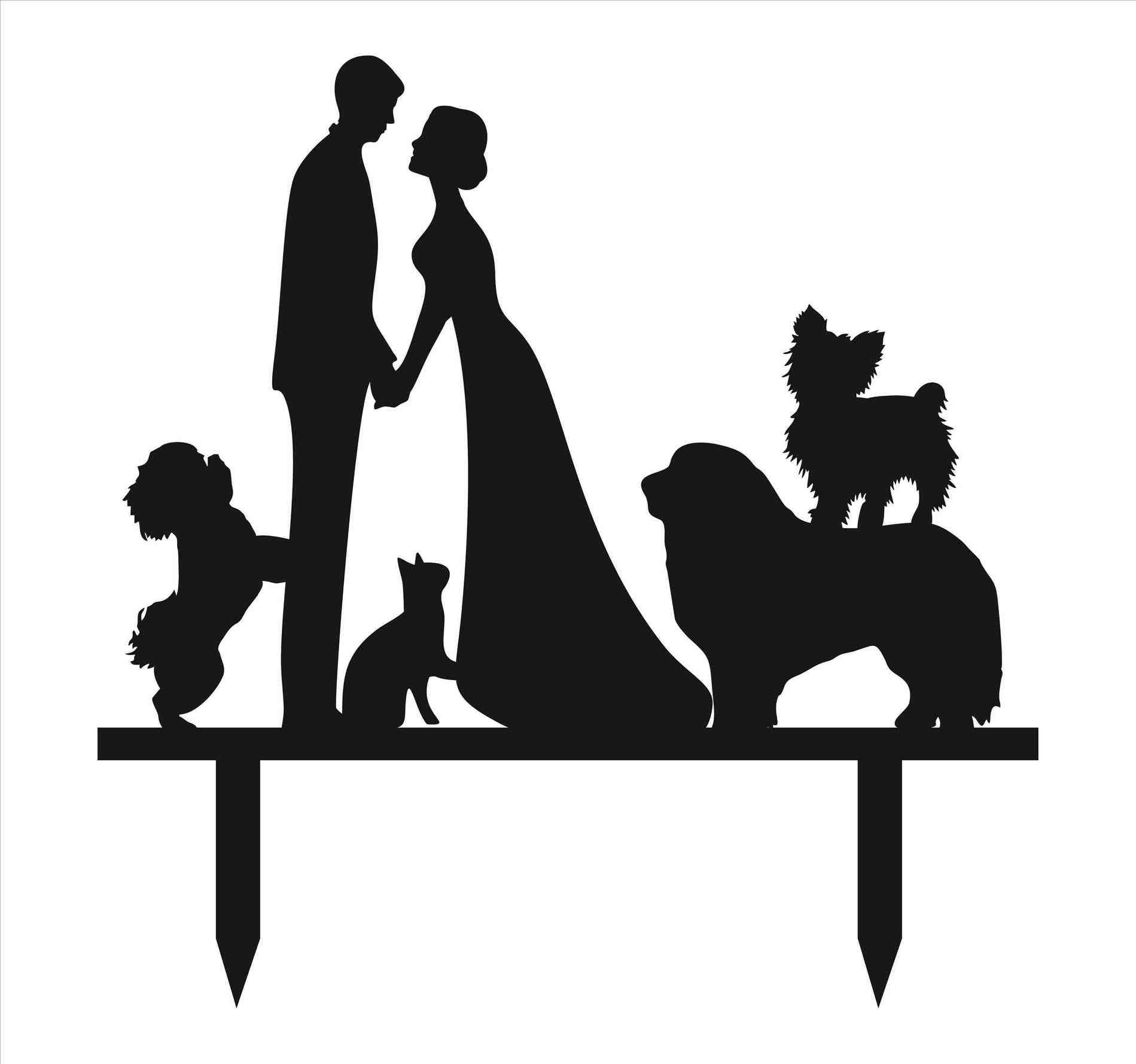 1899x1779 Unique Wedding Cake Topper Clipart S Cute Ideas For Topping Your