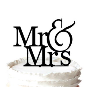 300x300 China Romantic Mr Amp Mrs Silhouette Wedding Cake Topper