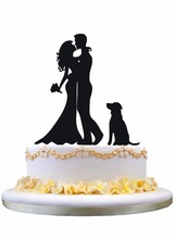 161x220 Wedding Cake Topper Silhouette Kissing Groom Bride Promotion Shop