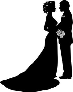 wedding couple silhouette clip art at getdrawings com free for rh getdrawings com wedding couple clipart black and white wedding couple clipart black and white