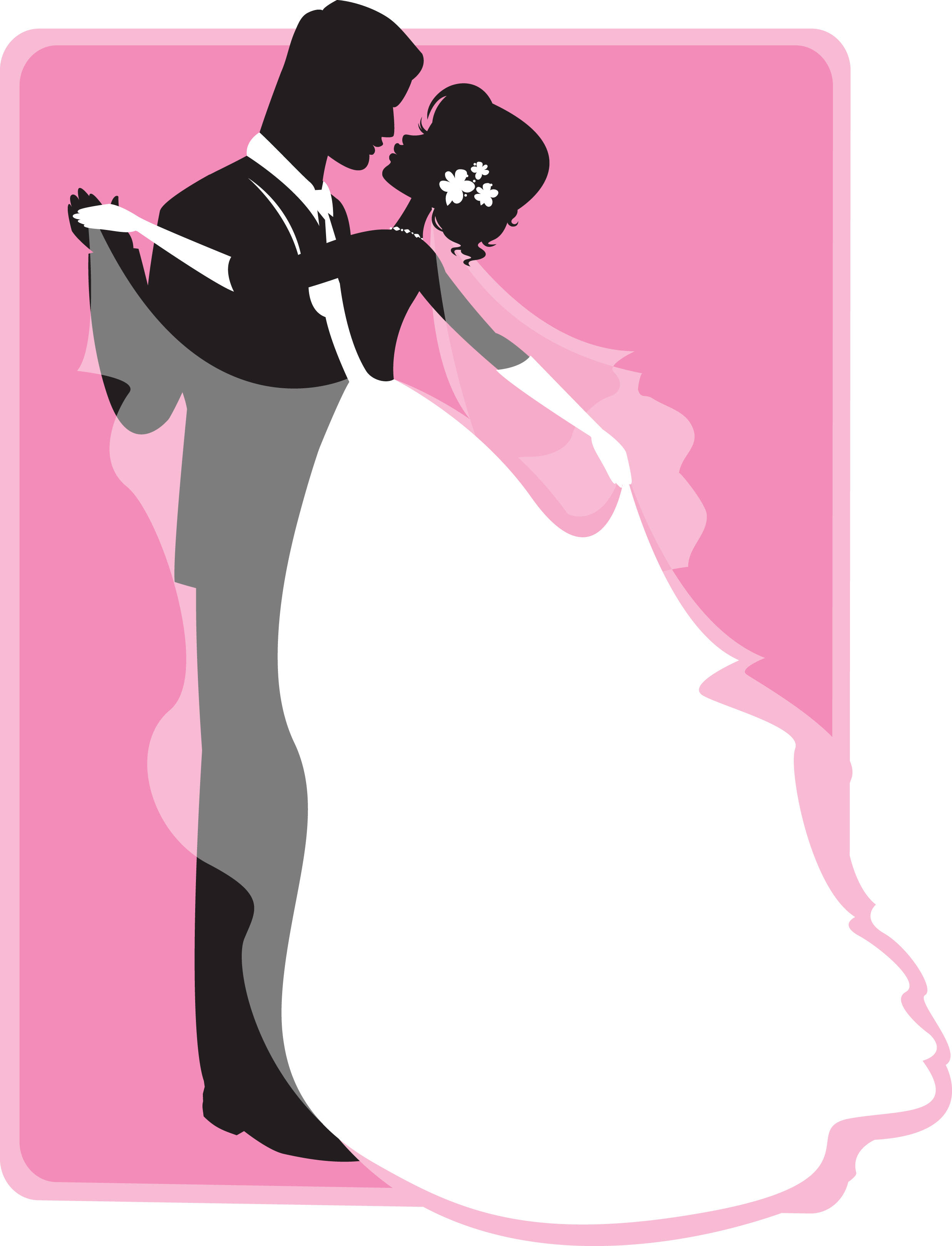 Wedding Dance Silhouette at GetDrawings.com | Free for personal use ...