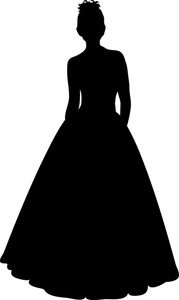 179x300 Wedding Dress Silhouette Clip Art