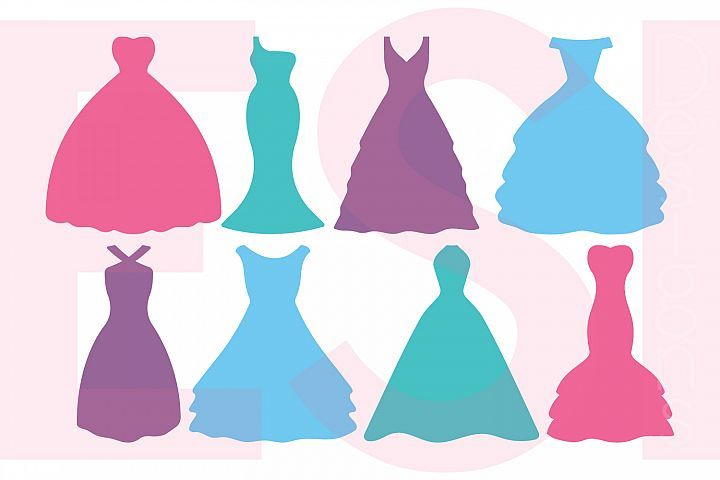 720x480 Silhouette Wedding Dress Designs