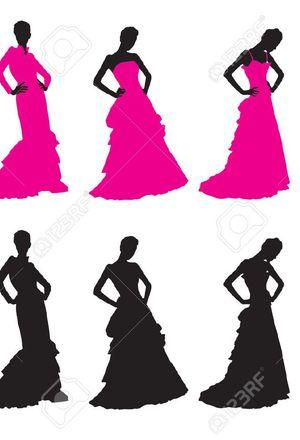 300x440 Silhouettes Wedding Dresses