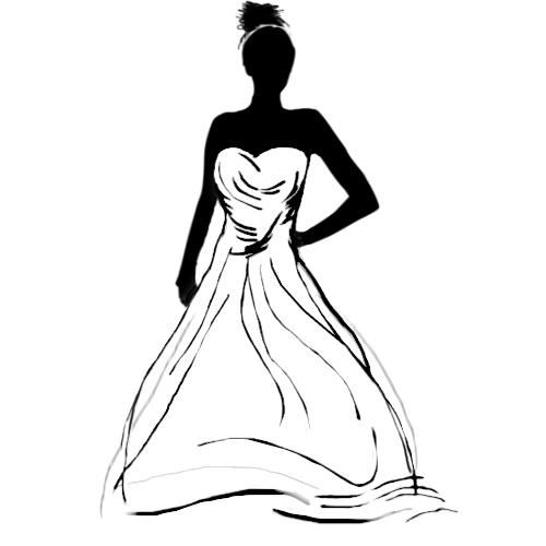 500x500 The Wedding Dress Types