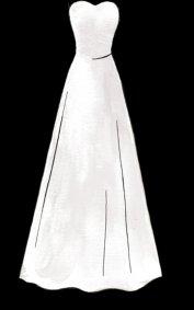 177x283 Wedding Dresses Silhouettes Chins N