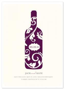 254x350 Vineyard Silhouette By Kristen Smith Invites