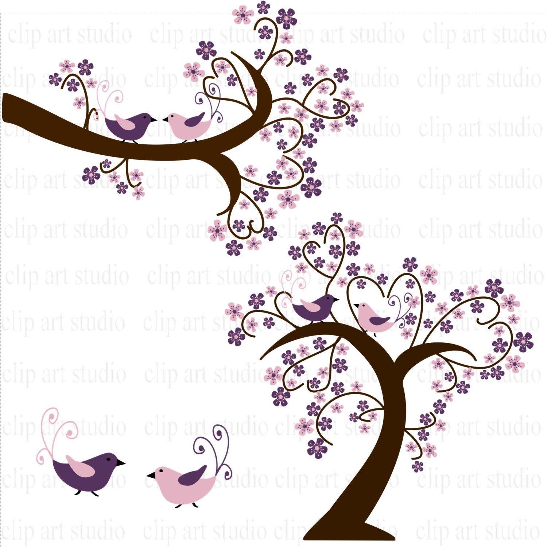 1500x1500 Purple Wedding Calligraphy