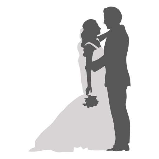 512x512 Wedding Party Silhouette Png
