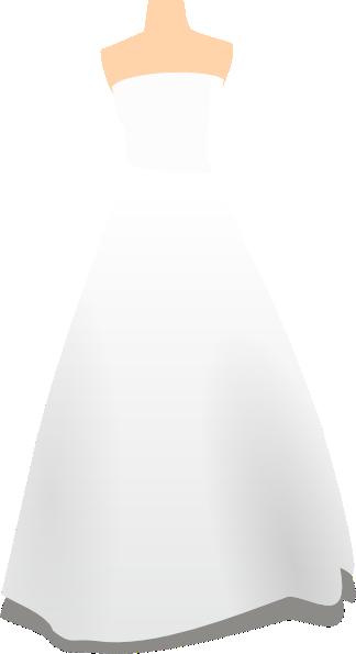 324x595 Clipart Wedding Dress