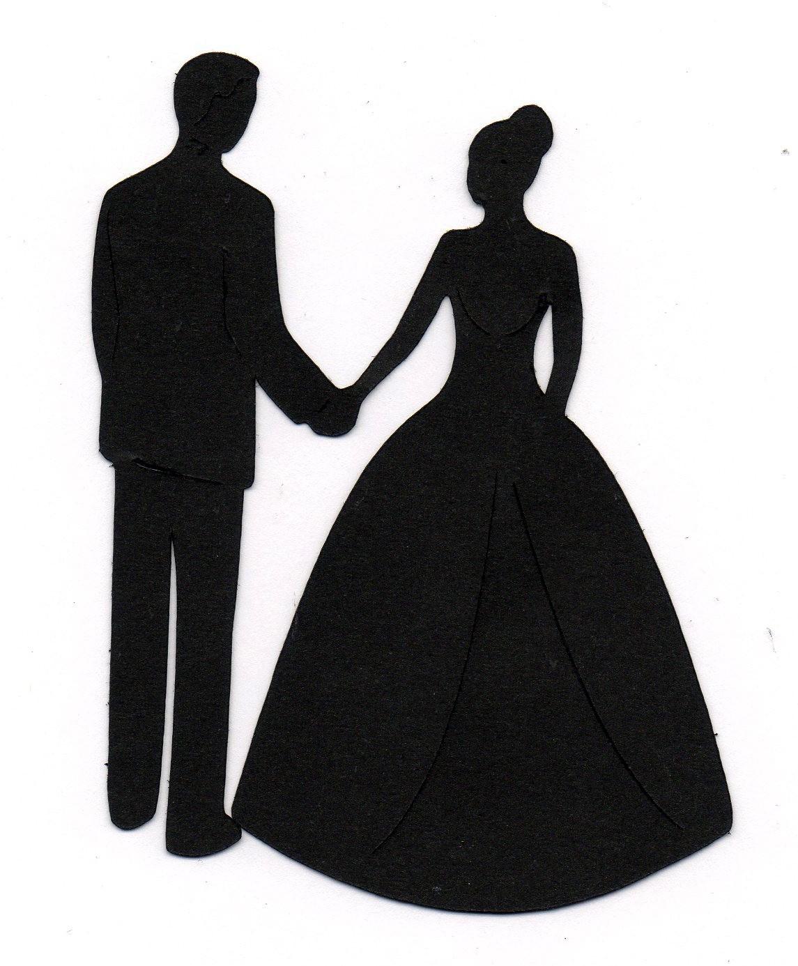 1145x1386 Clip Art Wedding Silhouette Clip Art