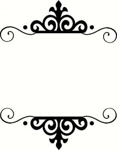 236x303 Free Vintage Clip Art Images Calligraphic Frames And Borders