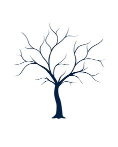 236x295 Tree Branch Pattern. Use The Printable Outline For Crafts
