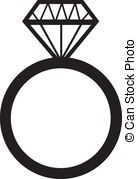 137x179 Engagement Ring Silhouette Vector Lake Side Corrals