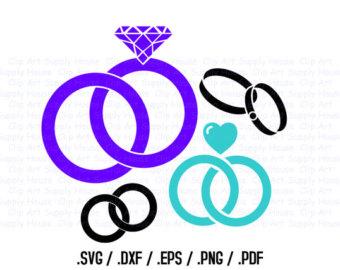 340x270 Wedding Silhouette Etsy