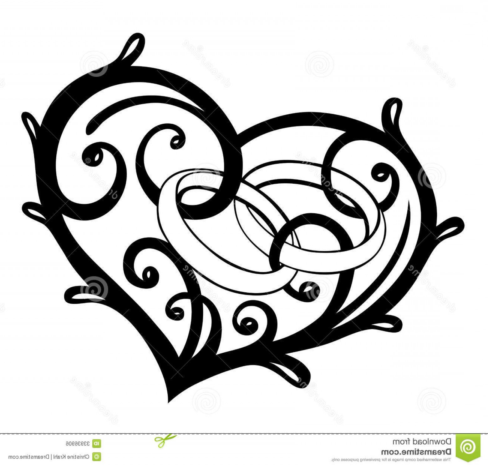 1560x1495 Wedding Rings Vector Silhouette Caymancode