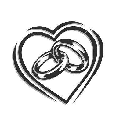 380x400 Wedding Ring Silhouette