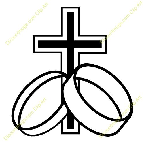 500x493 Christian Wedding Ring Clipart