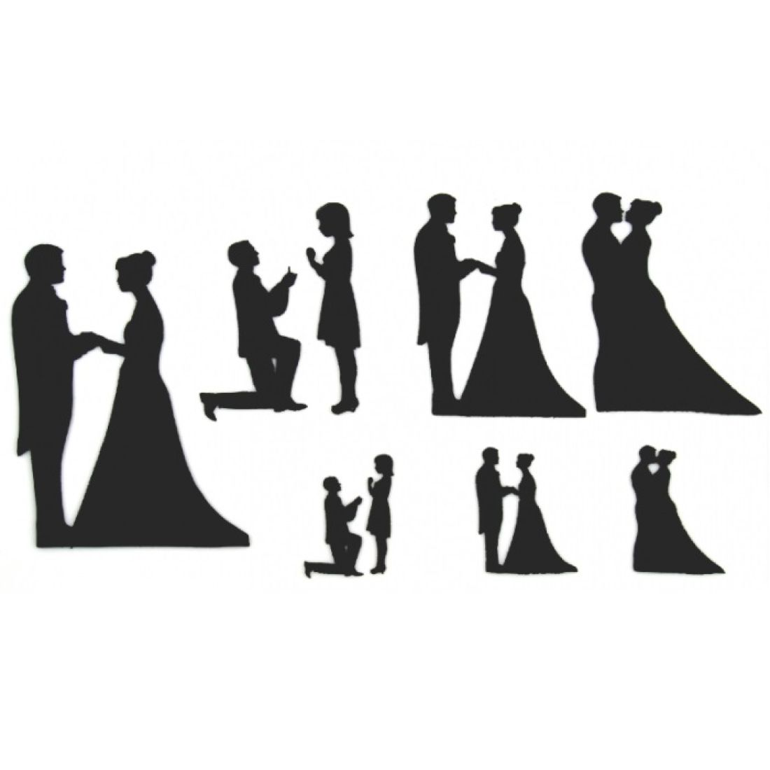 1100x1100 Patchwork Cutter Amp Embosser Wedding Silhouettes Set Squires