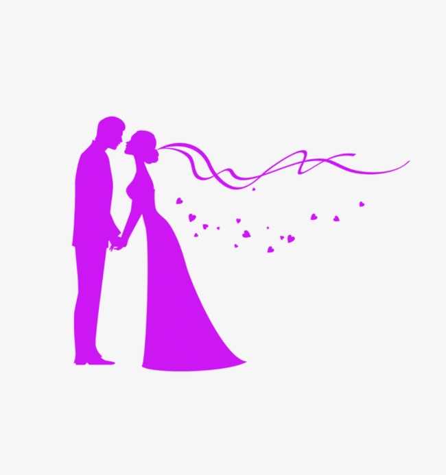 650x693 Wedding Silhouette, Valentine's Day, Qixi Festival, Love Png