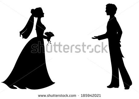 450x320 Princess And Prince Silhouette Stock Vectors Amp Vector Clip Art