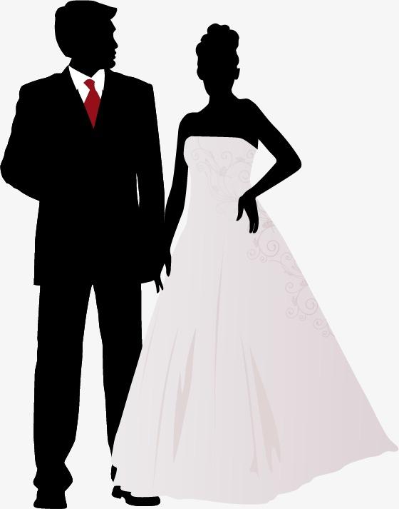 560x713 Silhouette Vector Wedding, Vector, Wedding, Sketch Png And Vector