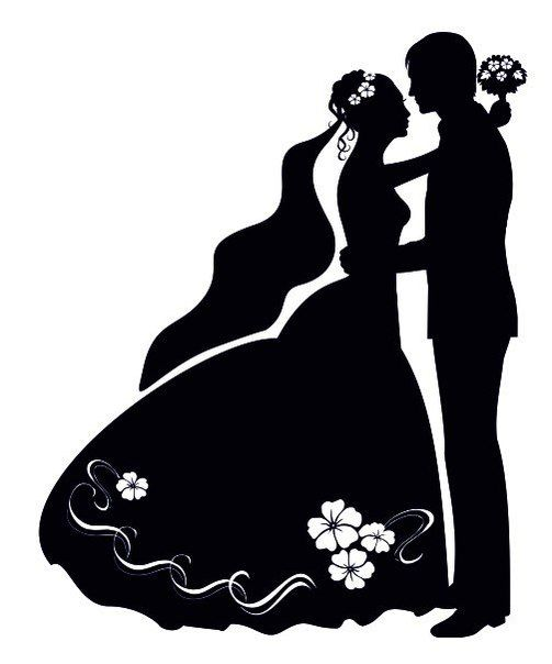 Wedding Silhouette Pictures