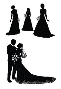 236x341 Wedding Silhouettes Love The Top Left Of Andy Picking Me Up