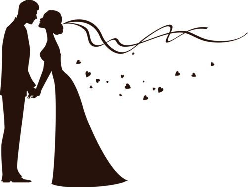500x377 Bride And Groom Clipart Free Wedding Graphics Image Wedding