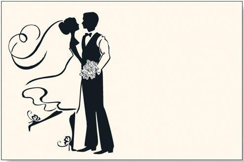 495x328 Novios Bailando Bintage Wedding, Silhouettes