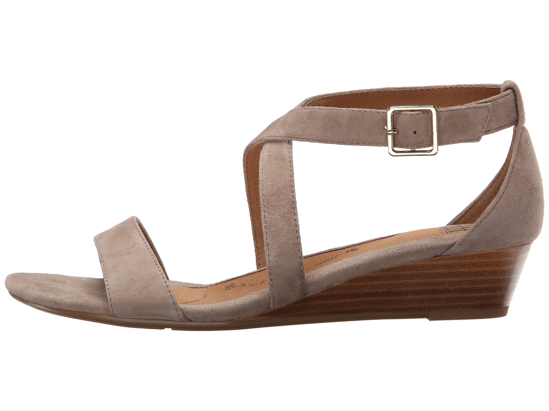 1920x1440 Sofft Innis Strappy Suede Or Patent Uppers In A Sandal Wedge